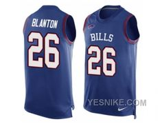 http://www.yesnike.com/big-discount-66-off-mens-nike-buffalo-bills-26-robert-blanton-limited-royal-blue-player-name-number-tank-top-nfl-jersey.html BIG DISCOUNT ! 66% OFF ! MEN'S NIKE BUFFALO BILLS #26 ROBERT BLANTON LIMITED ROYAL BLUE PLAYER NAME & NUMBER TANK TOP NFL JERSEY Only $26.00 , Free Shipping!