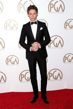 His suits fit him like he was born in them. | OK, But Eddie Redmayne Was This Awards Season's Best-Dressed Babe