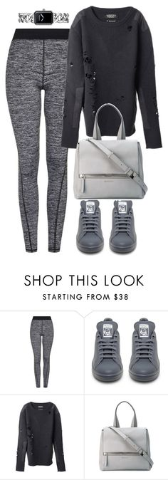 """""""Untitled #8732"""" by katgorostiza ❤ liked on Polyvore featuring Topshop, adidas, adidas Originals, Givenchy and Chanel"""