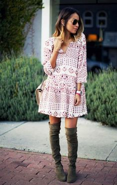 inspiration: over the knee boots | Lady Addict en stylelovely.com