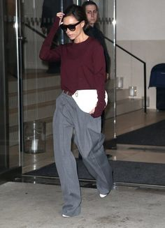 British fashion designer Victoria Beckham is spotted out and about in New York City, NY on February Fashion 2017, Womens Fashion, Fashion Trends, Victoria Beckham Collection, Victoria Fashion, British Style, British Fashion, Womens High Heels, Cool Style