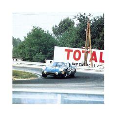 Alpine A210 (N° 1726) Jean-Claude killy / Bob Wollek - 24 heures du Mans 1969 - Automobiles Classiques juin / juillet 1991.