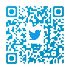 Check out my fancy QR Code and follow us o Twitter