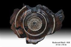 Dave Barkby Wooden Wall Sculptures - Image Gallery - Redwood Burls