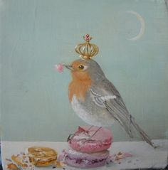 ♥A crown for Paige, a bird for me