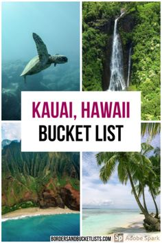 Looking for an amazing list of things to do on Kauai? This extensive guide has 70 unreal things to do on Kauai – all recommended by a Hawaii local! Kauai Hawaii, Lihue Kauai, Hawaii Vacation, Oahu, Italy Vacation, Hawaii Travel Guide, Usa Travel Guide, Travel Usa, Travel Tips