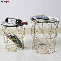 Metal Rose Gold Storage Basket with Cover Vogue Chic Nordic Elegant Iron Net Table Shelves Basket Bath Cloth Storage Organizer-in Storage Baskets from Home & Garden on Aliexpress.com | Alibaba Group