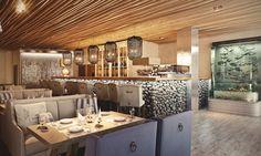 """Fish restaurant"" visualization by Viarde"