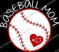 I'm A Baseball MOM shirt ORIGINAL DESIGN by WalnutStreetHouse2