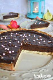 Barbi konyhája: Csokoládés pite Chocolate Cookies, Panna Cotta, Breakfast Recipes, Food Porn, Food And Drink, Pizza, Pudding, Sweets, Snacks