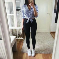 See our straightforward, relaxed & effortlessly cool Casual Outfit inspiring ideas. Get influenced with one of these weekend-readycasual looks by pinning your most favorite looks. casual outfits for teens College Outfits, Outfits For Teens, Trendy Outfits, Cute Outfits, Teen Fashion, Fashion Outfits, Womens Fashion, Style Fashion, Student Fashion