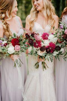ba2bc2bc36a99 pristine floral homegrown dahlia bouquet plum Dahlia Bouquet, Garden Styles,  Bridal Bouquets, Floral
