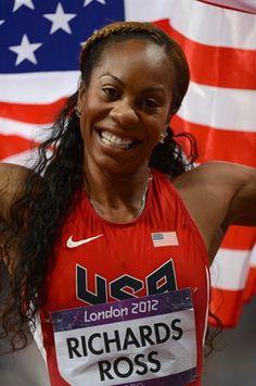 U.S. Gold Medalists - Sanya Richards-Ross 400 Meter i OS London 2012