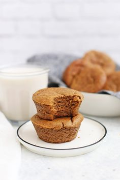 Paleo Almond Butter Banana Muffins – With Video!