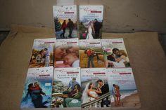 10 Harlequin Romance books, Harlequin novels by TheKindLady on Etsy
