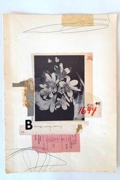 leeamckenna: Handmade Collage 2015 by Lee McKenna Art Du Collage, Mixed Media Collage, Art Journal Inspiration, Art Inspo, Design Inspiration, Art Design, Book Design, Plakat Design, Art Brut