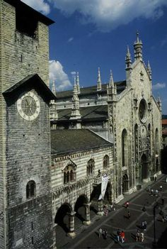 Broletto and Basilica ~ Como, Italy