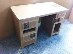Bureau meuble en carton..interesting . grt diy ideas things