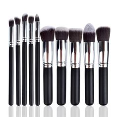 10 Piece Brush Set – Flawless Fleur