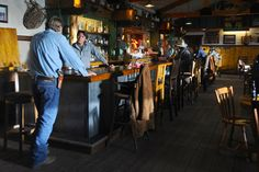 """""""It's another beautiful day at the Red Pony Saloon and continual soiree.""""  Henry Standing Bear, Longmire"""
