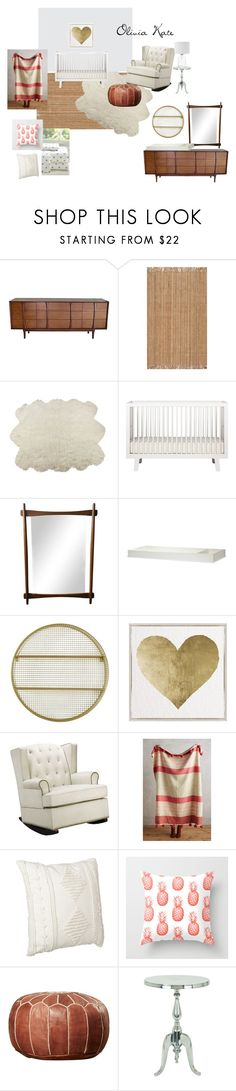 """""""olivia"""" by blaireandrews on Polyvore featuring interior, interiors, interior design, home, home decor, interior decorating, Luxe, Pillowfort, Oliver Gal Artist Co. and Dorel Asia"""