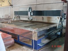 Second hand waterjet machine available. Contact us for more information +39 039204971
