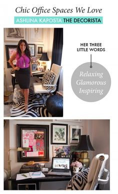 The Chic Office Spaces Of Our Favorite Business Women | theglitterguide.com