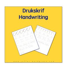 Drukskrif, Handwriting, Printing Afrikaans Language, Mathematics, Handwriting, Printing, Cards Against Humanity, Education, School, Penmanship, Math