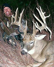 Drop tine non typical buck