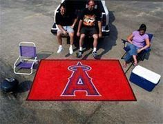 Anaheim Angels Ultimat Mat - 5' X 8' Mats