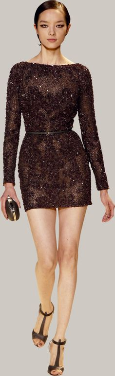 ELIE SAAB - Ready-to-Wear - Spring Summer 2013-I love this brown