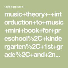 music+theory+-+intorduction+to+music+mini+book+for+preschool%2C+kindergarten%2C+1st+grade%2C+and+2nd+grade+kids.JPG 1,600×1,063 pixels