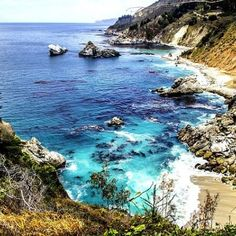 5 Absolutely Breathtaking Zanzibar Beaches That Will Make You Wish You Were There - This Way To Paradise-Beaches, Islands, And Travel Carmel California, California Beach, California Travel, Monterey California, Zanzibar Beaches, Pretty Beach, Monterey County, Big Sur, The Great Outdoors