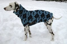 fuchs & fjonka - deer hound dog sweater
