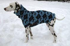 fuchs & fjonka - deer hound dog sweater
