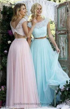 Resultado de imagem para vestidos de fiesta de 2 piezas 2015