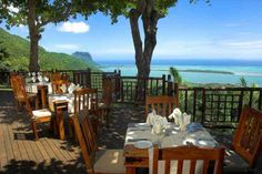 Le Chamarel Restaurant - Mauritius One of the best views in the world