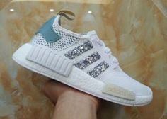 c4f9a1f1b Adidas Originals NMD PK White Glitter Sneakers Adidas Shoes Nmd