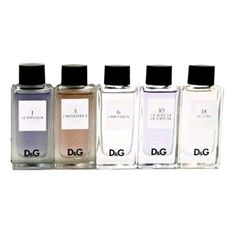 D & G Collection Perfume by Dolce & Gabbana for Women. 5 Pc. Gift Set $45.90 (save $19.10)