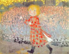 Maurice Denis(1870ー1943)「Little Girl in a Red Dress」