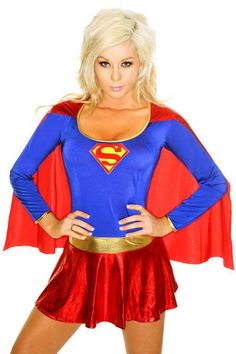 Delicious Supergirl Kara Zor-el Danvers Halloween Adult Costume Suit Dress Outfit Halloween Carnival Adult Women Cosplay Full Sets Reliable Performance Anime Costumes