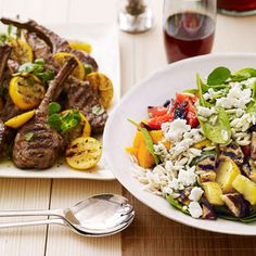 Greek Lamb, Orzo, and Spinach Salad Lunchtime Lifesaver: 15 Pasta Salad Recipes