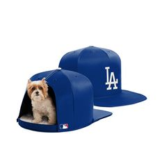 Los Angels Dodgers Nap Cap pet bed provides a cozy dome for your pet to NAP or PLAY in any room. Available in three sizes so that you can pick the right NAP CAP for your home. Dog Beds For Small Dogs, Large Dogs, Dodgers, Team Gear, Dog Rooms, Auburn Tigers, Medium Dogs, Pet Beds, Boston Red Sox