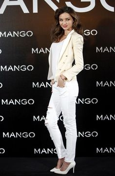 Kerr is the new face for Mango