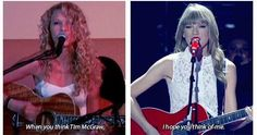 :') You know what always still keeps me with her is that she will never change she will just keep growing up and I will never leave her because she still is the Taylor we all fell in love with.