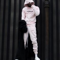 Fancy - Pink Essential Joggers by Underated