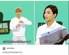 I liiiiiive for Jeonghan's sass