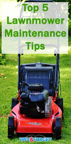 Make sure your lawnmower is ready for the spring season with these 5 maintenance tips! home maintenance 5 Lawnmower Maintenance Tips to Start the Season Right Lawn Mower Maintenance, Home Maintenance Schedule, Landscape Maintenance, Lawn Equipment, Outdoor Power Equipment, Landscape Edging Stone, Small Engine, Garden Care, Home Repairs
