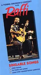 A Young Children's Concert with Raffi VHS