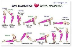 On the front of this wallet guide is the Sun Salutation series of asanas - Surya Namaskar. On the back is an Asanas Cycle. This wallet learning guide can really last in the wallet because it's made of